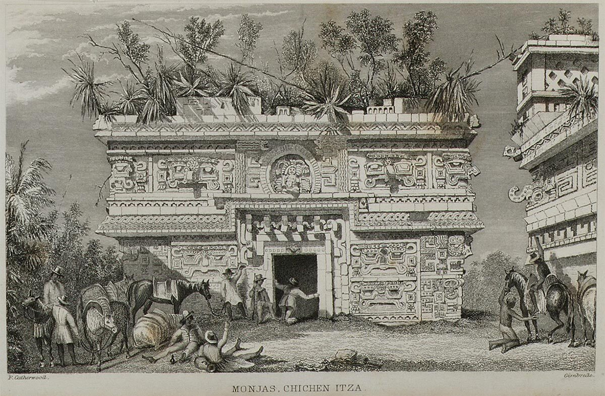 "Scan of ""Incidents of Travel in Yucatan"" (1943) by John Lloyd Stephens 