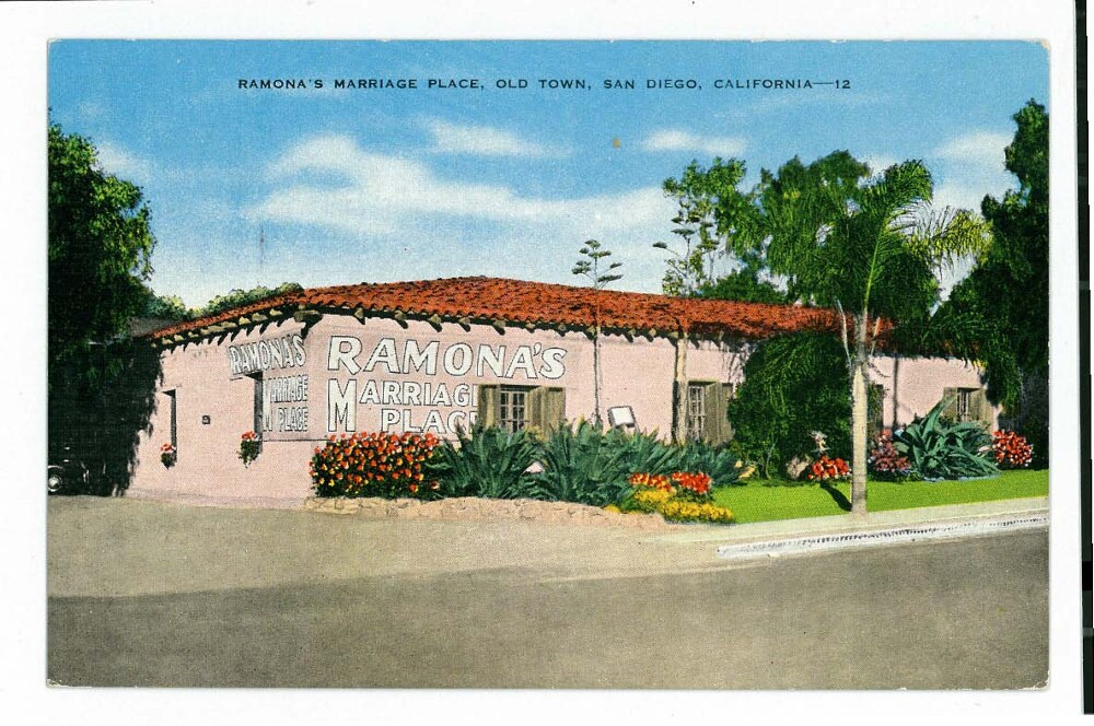 Ramona's Marriage Place Photo: Courtesy of California State Parks