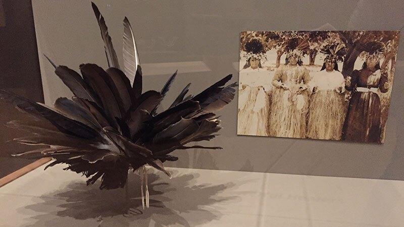Feather headdress by Kai LaPena