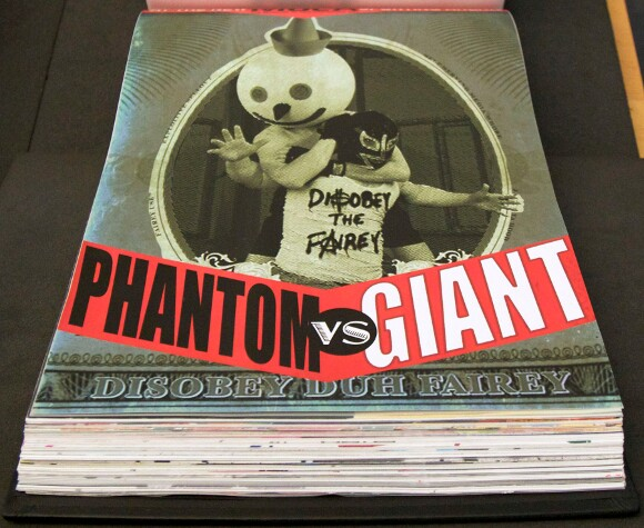 Phantom will be forever be wrestling Giant in the archives of The Getty. | Photo: Ed Fuentes.