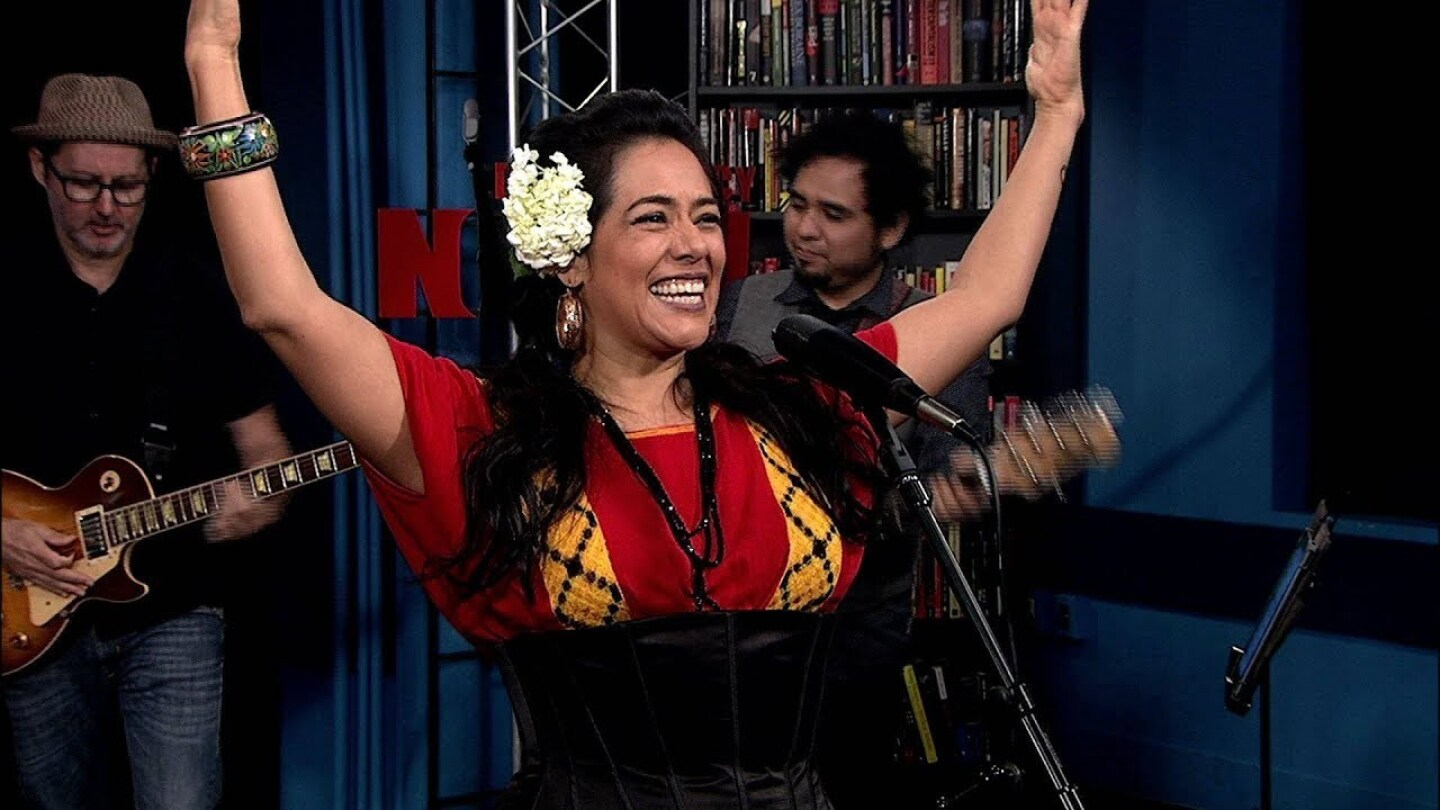 Mexican Singer Lila Downs in Conversation & Performance on Democracy Now!