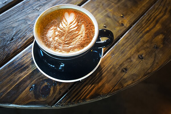 Rosetta latte art | Photo: Dougals McCulloh