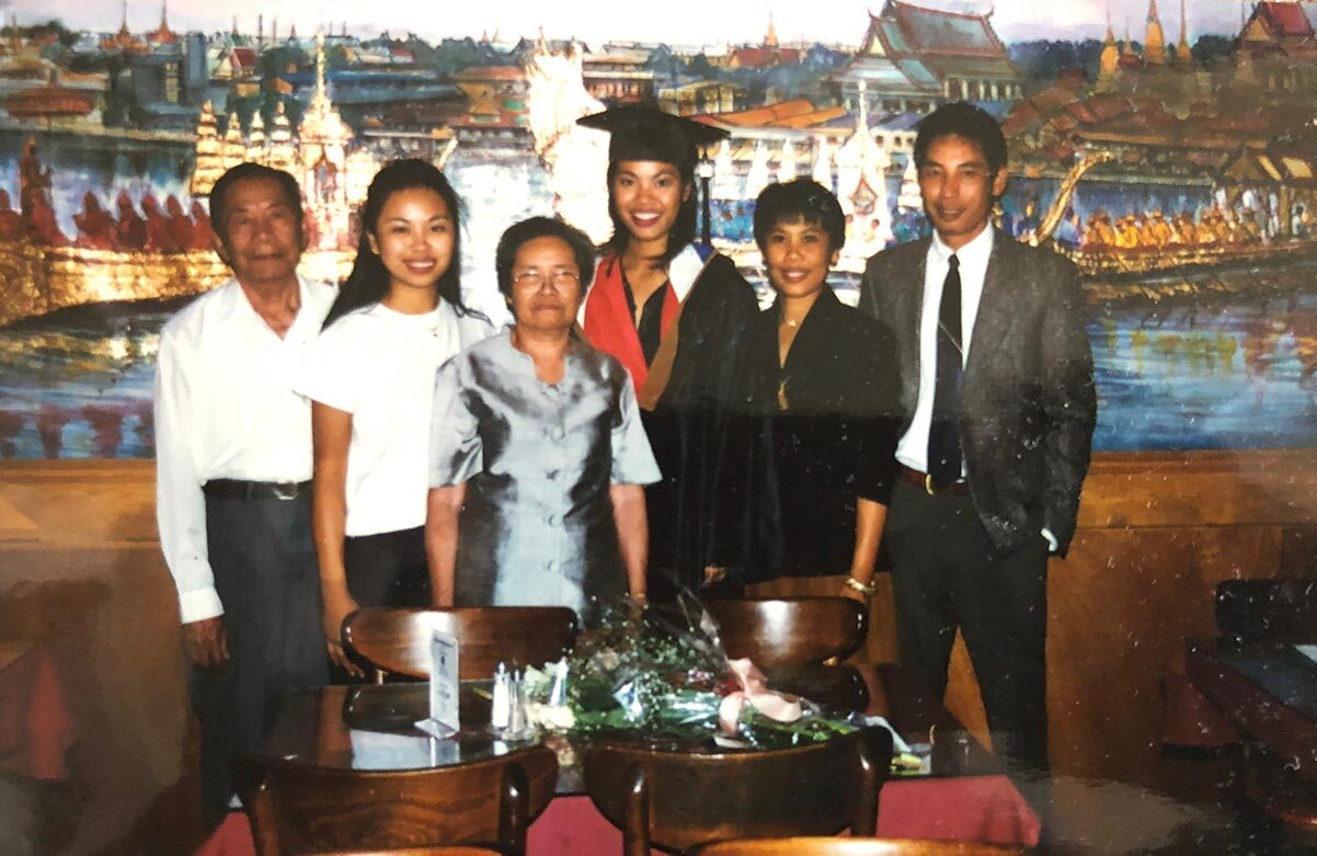 The Chao Krung family | Courtesy of Chao Krung