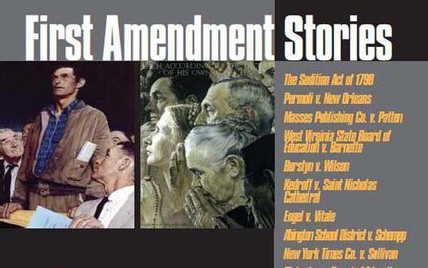 """""""First Amendment Stories"""" book cover crop"""
