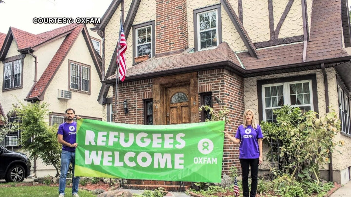 Trump's Childhood Home is Now an Airbnb Where Refugees Slept Over to Protest Immigration Crackdown