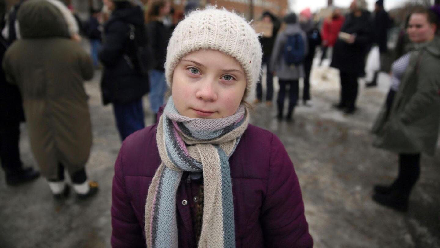 """Greta Thunberg in """"Climate Change - The Facts"""""""