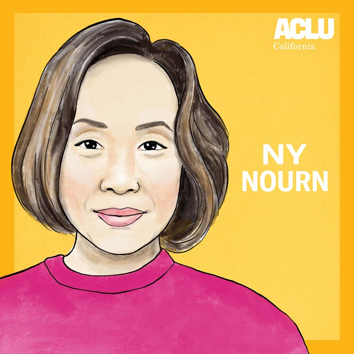 Portrait of Ny Nourn | Audrey Chan, ACLU SoCal