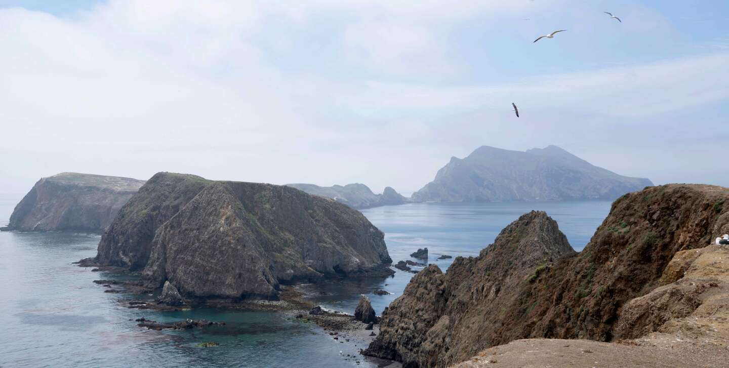 Inspiration Point at Anacapa Island, Channel Islands National Park