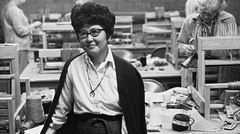 "Kay Sekimachi | Still from ""Artbound"" Masters of Modern Design"