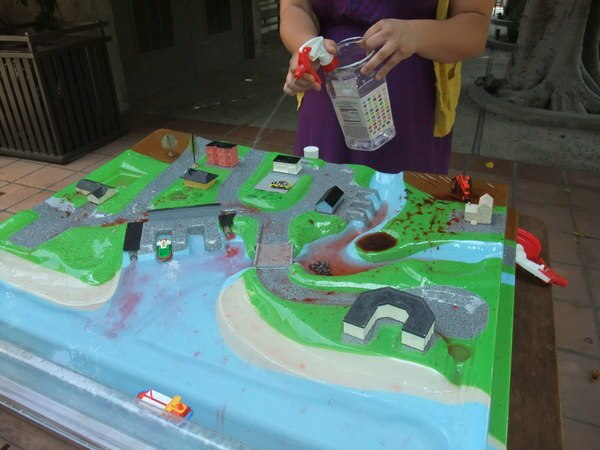 Watershed Model | Photo by Doug Simpson