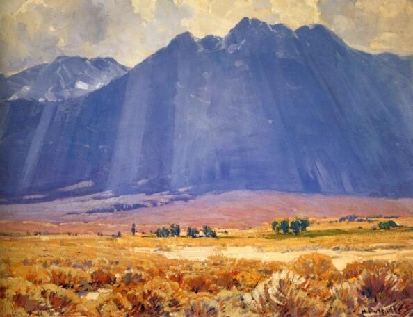 ''Mystical Hills'' Hanson Puthuff