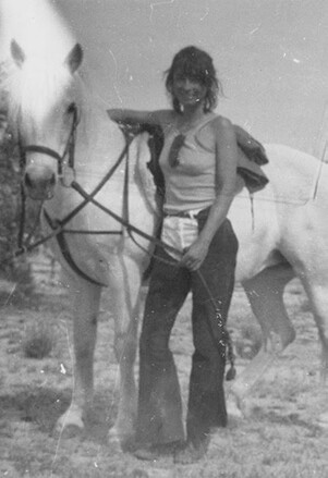 Joshua Tree artist Constance Walsh lived in the rock houses in the 1970s. | Constance Walsh