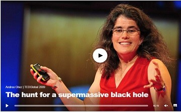 Andrea Ghez's TED Talk