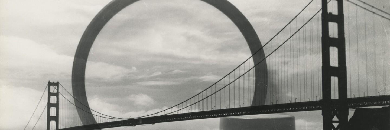 San Francisco bridge with Heathware | Courtesy of the Environmental Design Archives at UC Berkeley