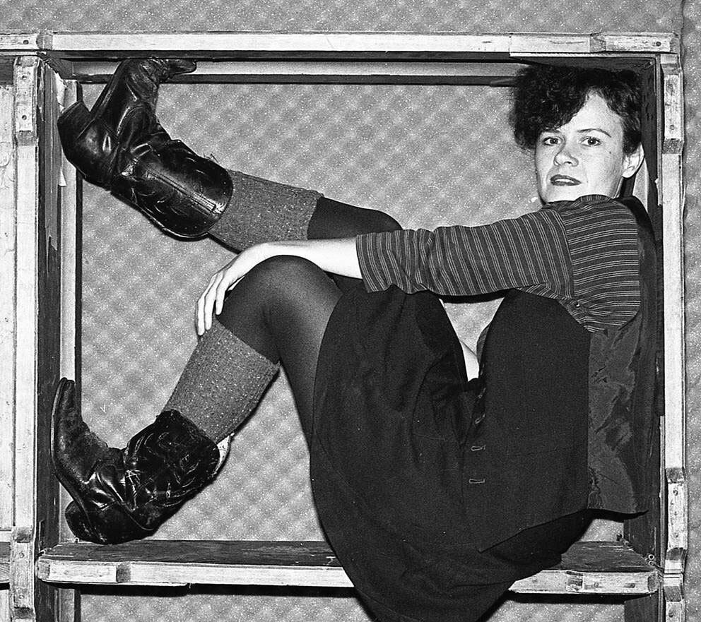 Performance artist and punk rock musician Johanna Went