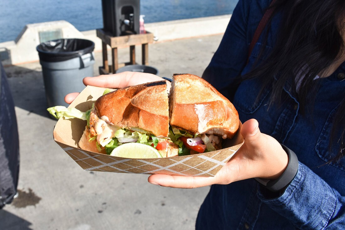 Swordfish Sandwich