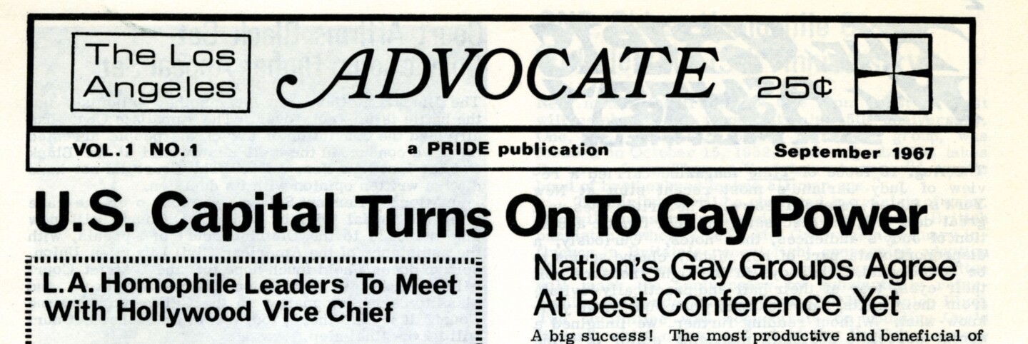 The Los Angeles Advocate