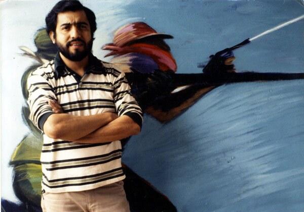 Carlos Almaraz, 1979. Photo by Harry Gamboa Jr. Image courtesy of Barbara Carrasco.