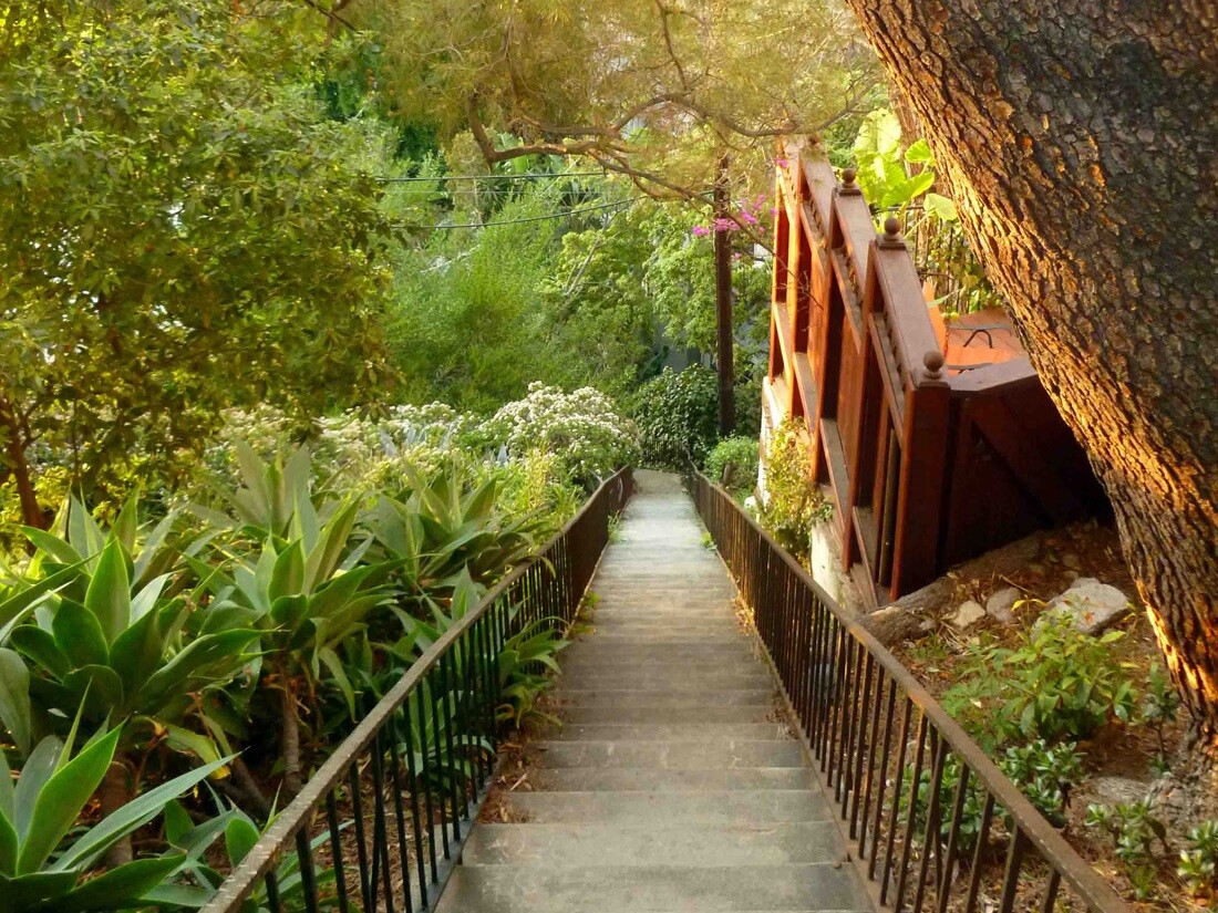Hollywoodland Historic Stairs (2)