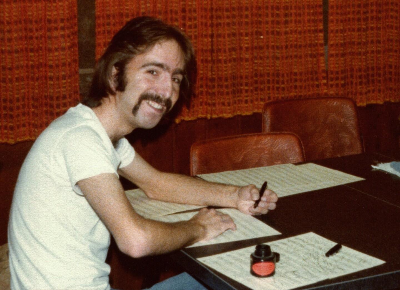 Steven J. Salazar (of Shorty's Portion) writing music