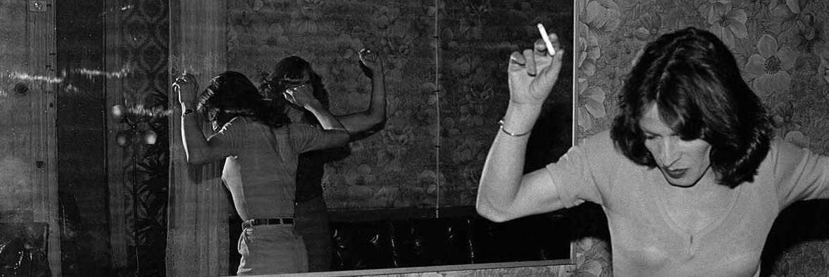 Paz Errázuriz (Chilean, b. 1944), La Palmera (The palm tree), from the series La manzana de Adán (Adam's Apple), 1987. Gelatin silver print. | Courtesy of the artist and Galeria AFA, Santiago. Artwork © the artist. Radical Women Hammer PST LALA