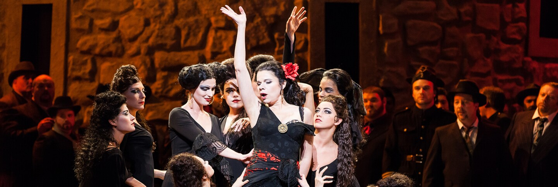"Ana María Martínez as the title character in ""Carmen"" I Lynn Lane, courtesy of Houston Grand Opera"