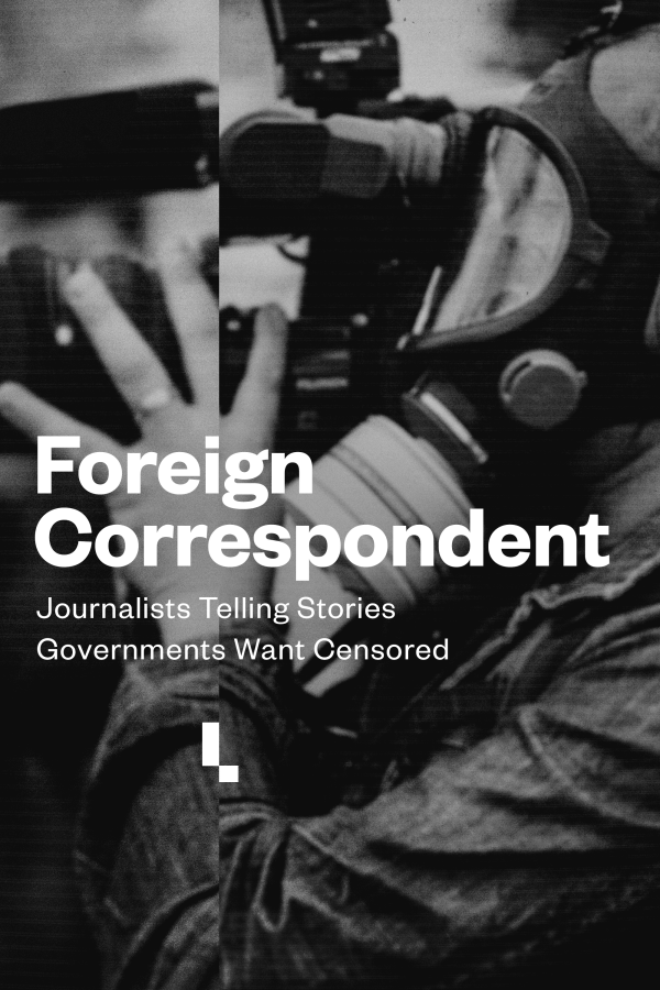 Foreign Correspondent Show Poster