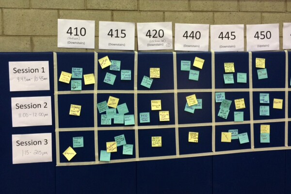 EdCamp Workshop Board