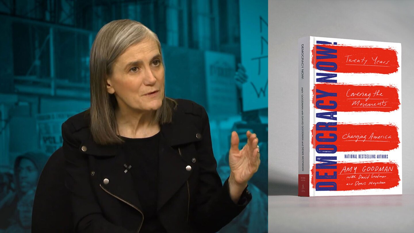 Amy Goodman's Democracy Now Book Giveaway
