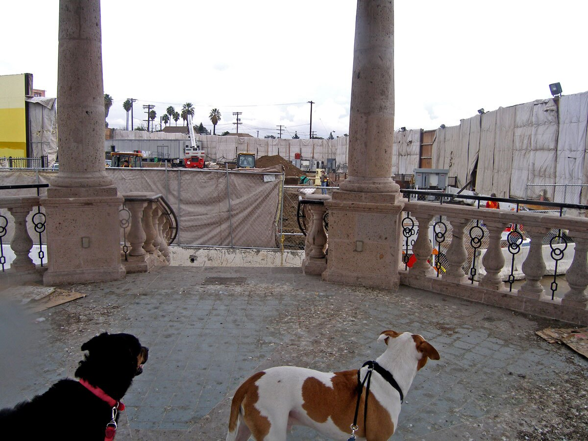 Mariachi Plaza under construction | Laurie Avocado/Flickr