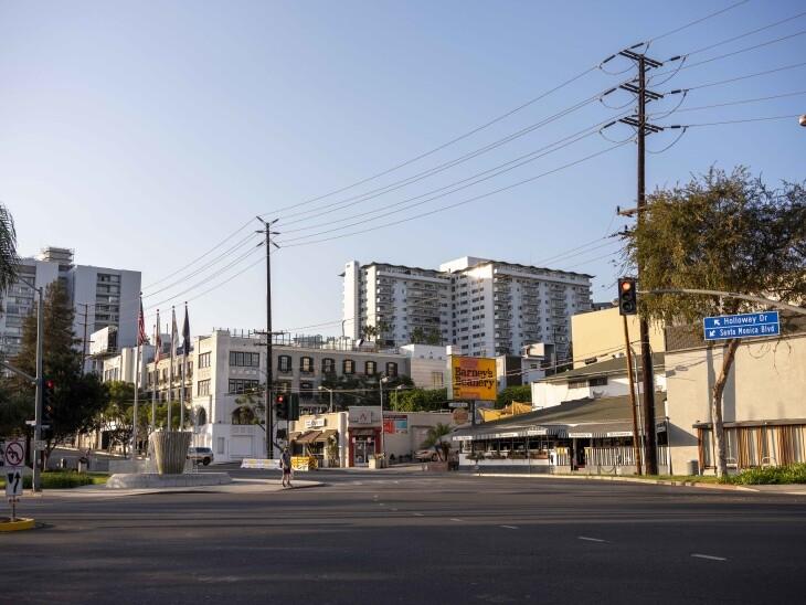 Barney's Beanery in West Hollywood. | Chava Sanchez/LAist
