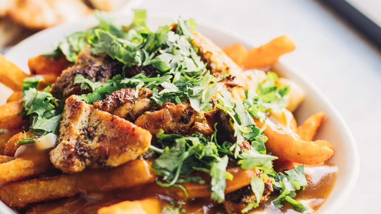 Badmaash's Chicken Tikka Poutine | Courtesy of Life & Thyme