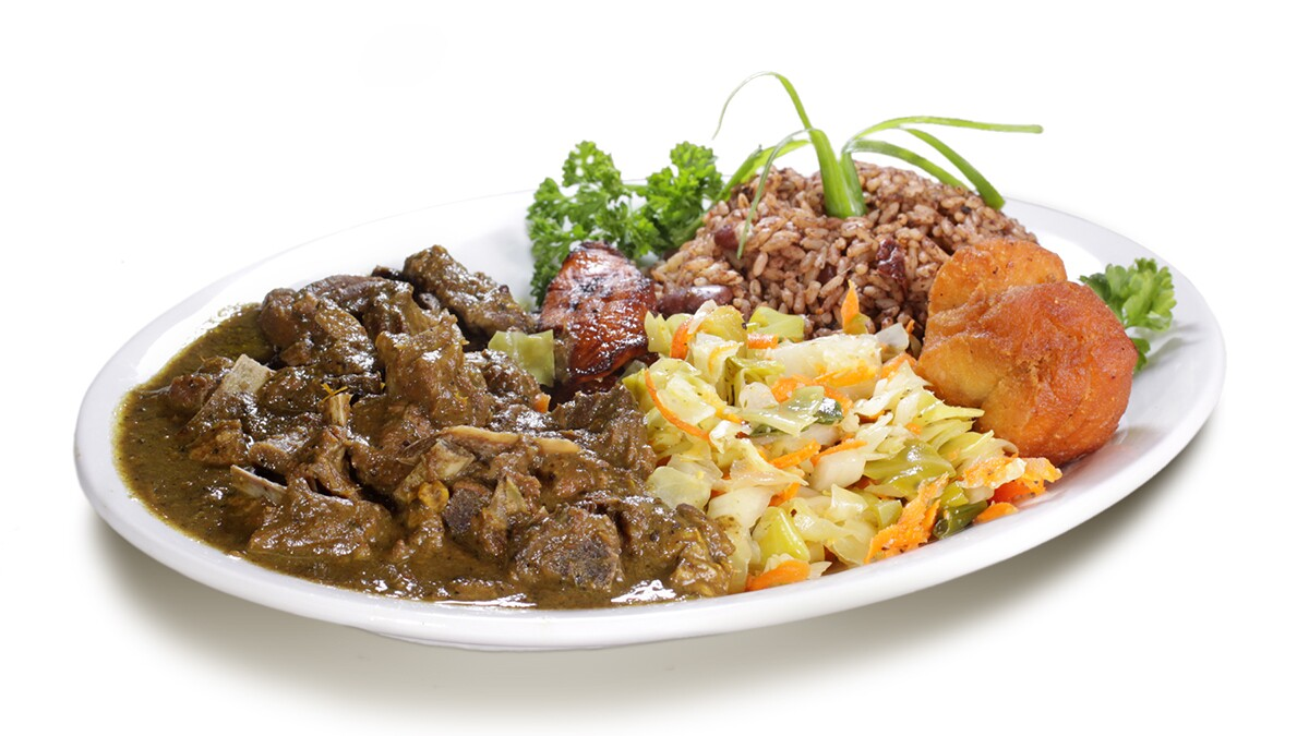 Curry Goat | Courtesy of Ackee Bamboo Jamaican Cuisine