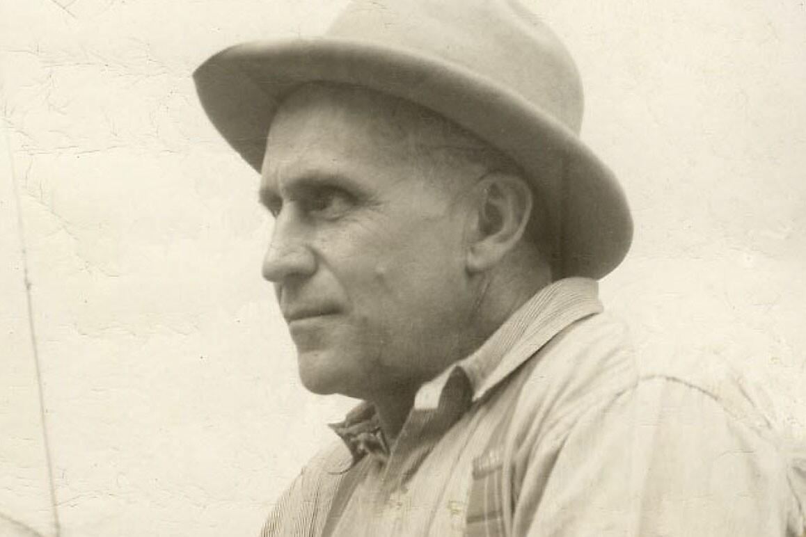 Portrait of E.P. Dorr found in Willard Dorr, Jr's estate. | Image courtesy Ralph Lewis.