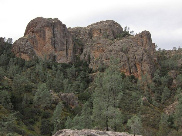 A cloudy morning at Pinnacles National Monument near Soledad, CA   Photo by Zach Behrens/KCET