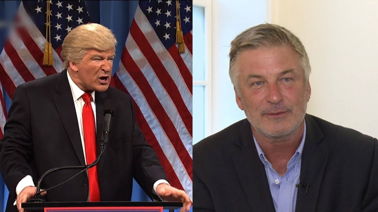 Alec Baldwin On Impersonating the President