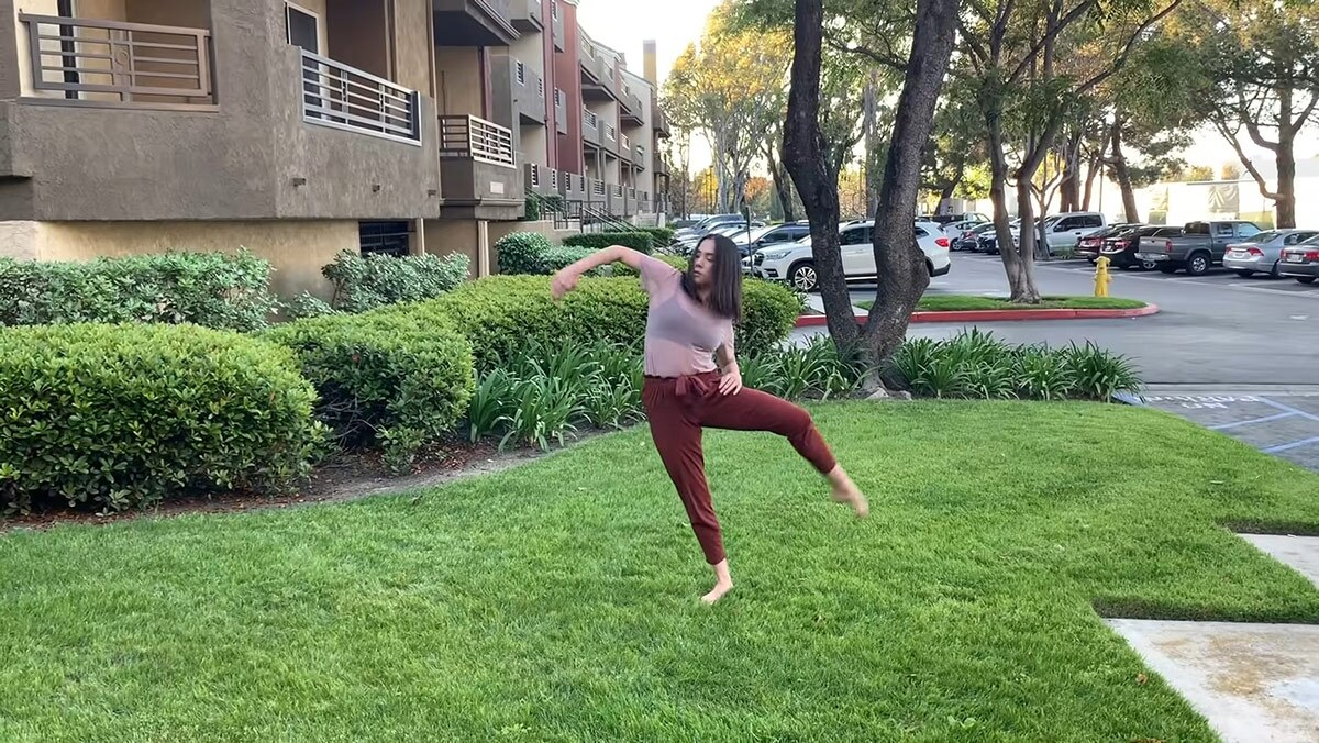 """UCI Dance's """"A story of roots in four parts"""" by Claire Goldes 