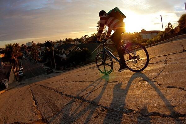 A bike ride in Ventura, CA.