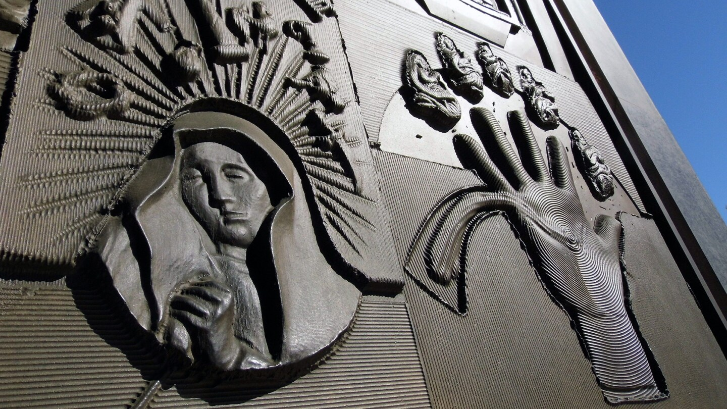Detail from the Cathedral of our Lady of the Angels | Sandi Hemmerlein