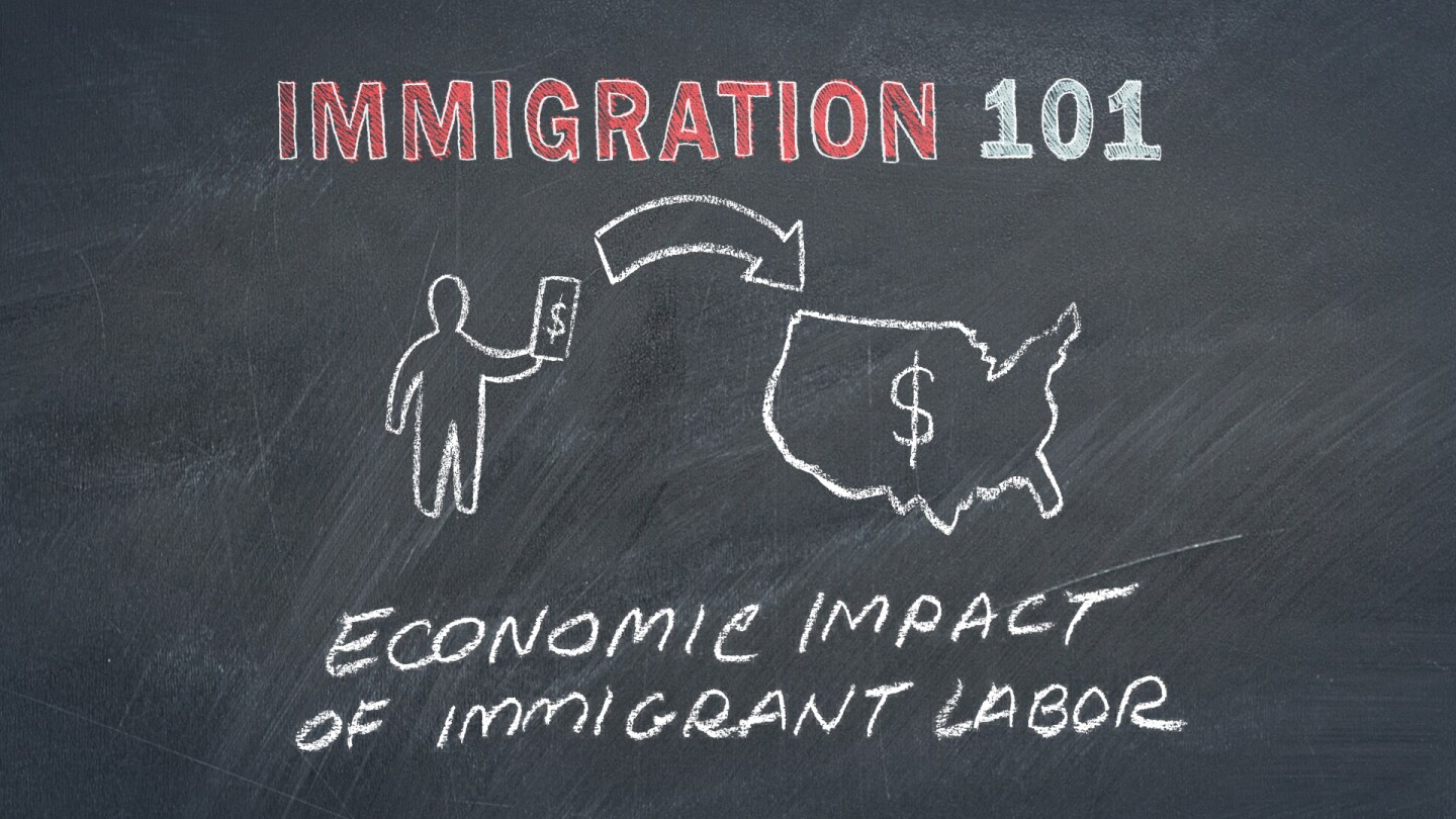 Economic Impact of Immigrant Labor Graphic
