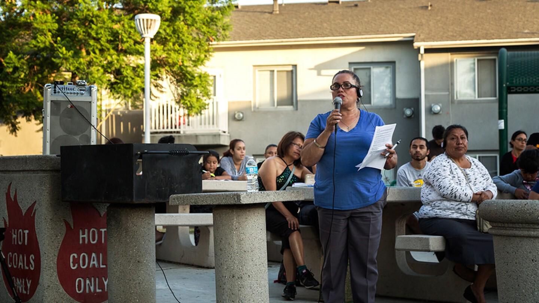 BHAAAD talk on Gentrification | Photo: Leonardo Vilchis