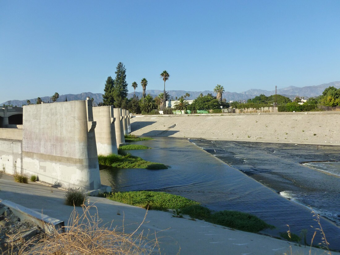 The Los Angeles River (2)
