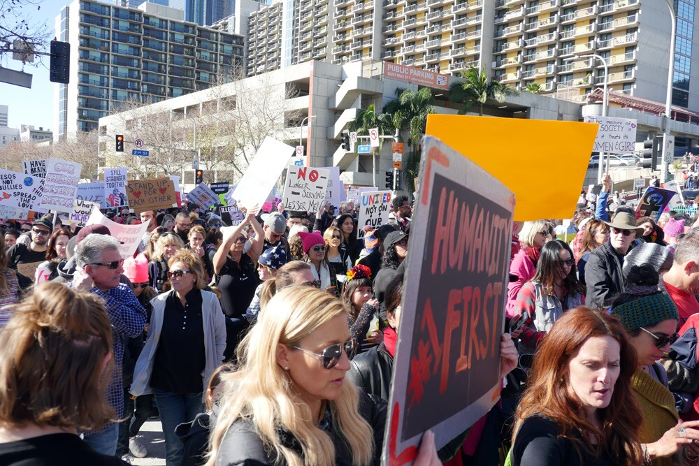 Women's March: Pershing Square