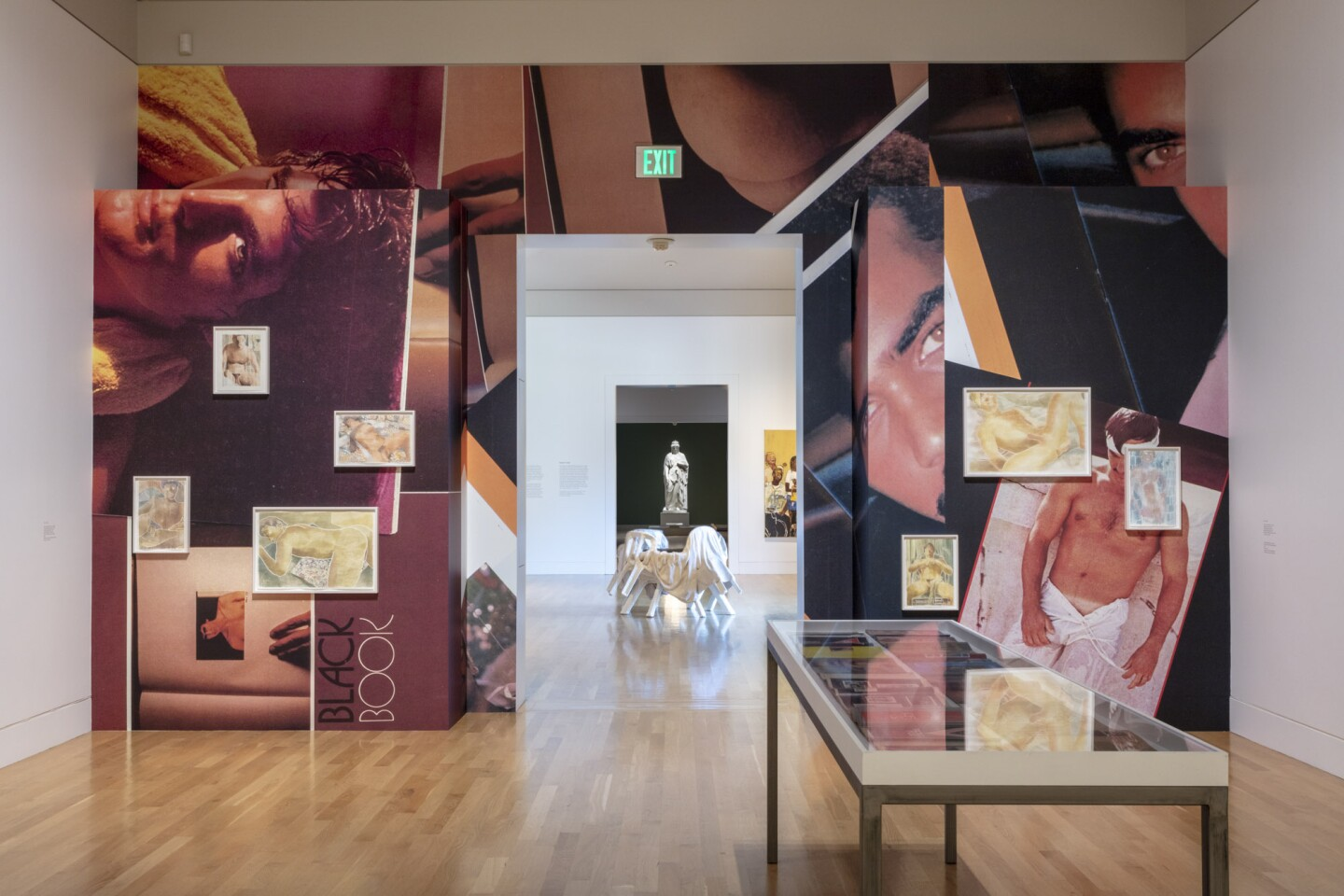 "An installation view of Monica Maioli's work at ""Made in L.A. 2020: a version"" at The Huntington Library, Art Museum, and Botanical Gardens, San Marino. 