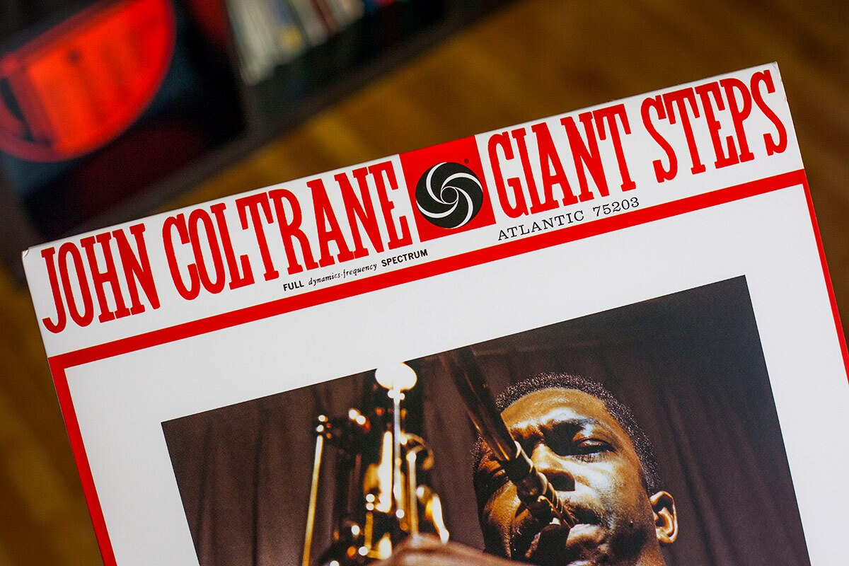 "John Coltrane's ""Giant Steps"" album. 