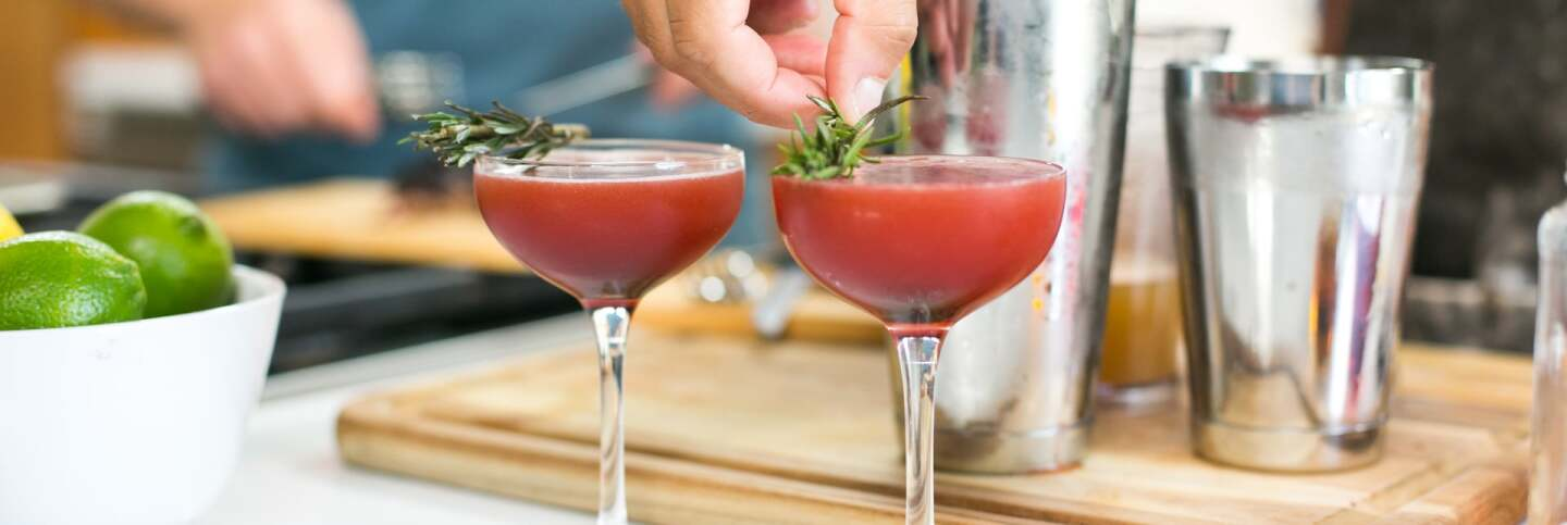 Lamb-Infused Whiskey Cocktail | Carla Choy