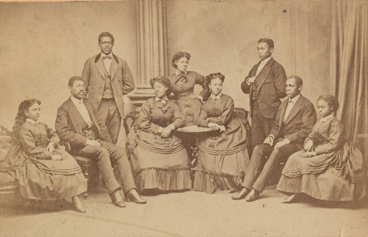 Fisk Jubilee Singers, circa 1870s | Courtesy of the Library of Congress