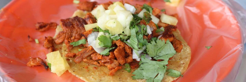 Tacos al pastor | Lesley Tellez