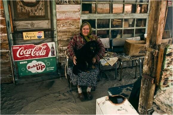 Ruby Black of Possum Trot, Yermo, CA. | Photo: Seymour Rosen ©SPACES.