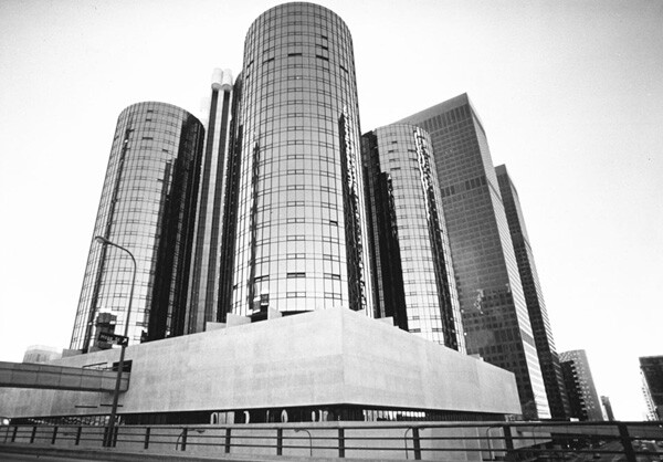 The Bonaventure Hotel in Downtown Los Angeles. Image courtesy of the USC Digital Library.